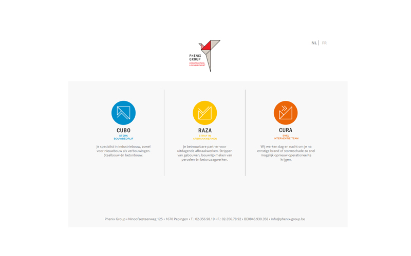 Phenix Group websites