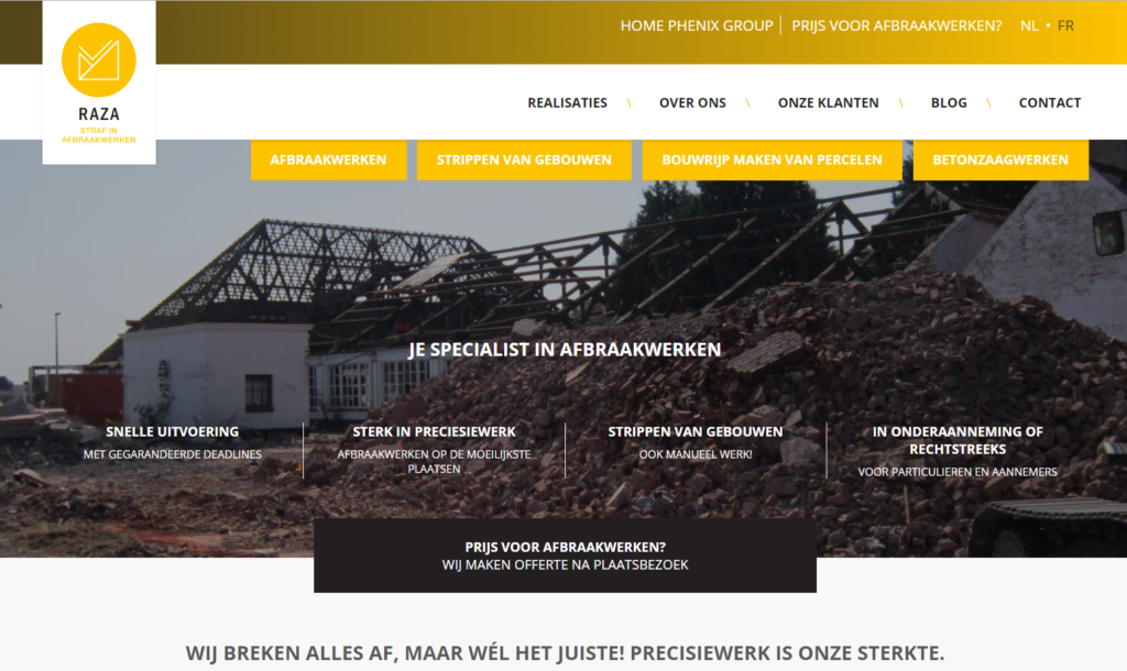 Raza website